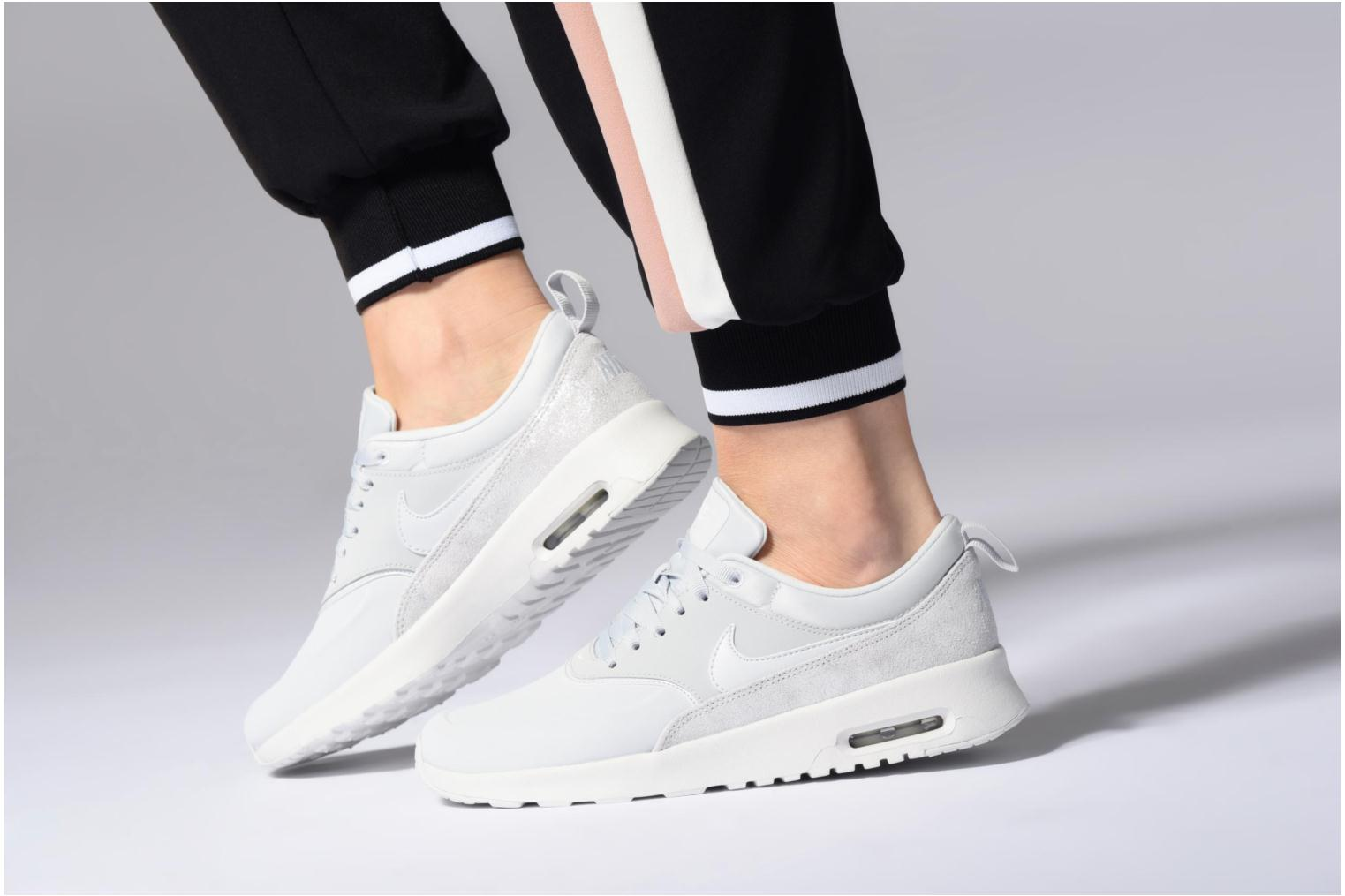 Wmns Nike Air Max Thea Prm Mtlc Field/Mtlc Field-Summit White