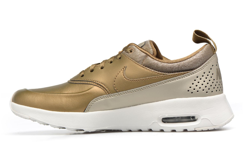 Sneakers Nike Wmns Nike Air Max Thea Prm Bronze och Guld bild från framsidan