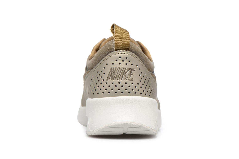 Baskets Nike Wmns Nike Air Max Thea Prm Or et bronze vue droite