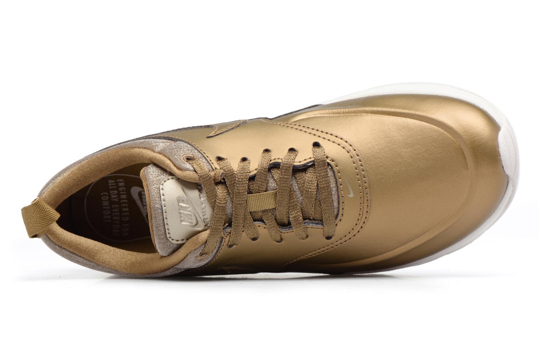 Sneakers Nike Wmns Nike Air Max Thea Prm Bronze och Guld bild från vänster sidan