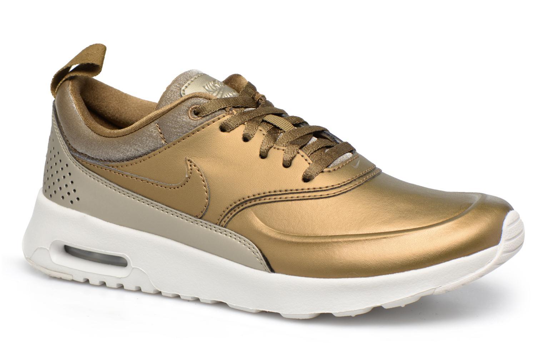 Baskets Nike Wmns Nike Air Max Thea Prm Or et bronze vue détail/paire
