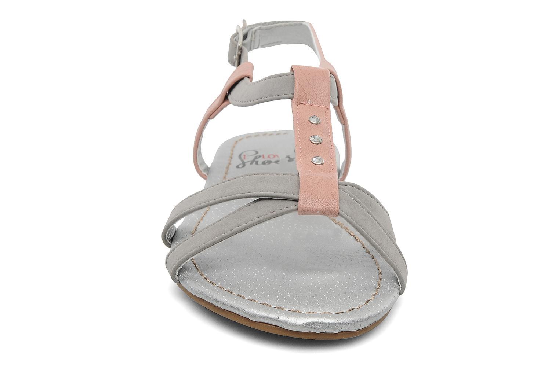 Sandales et nu-pieds I Love Shoes Itao Gris vue portées chaussures