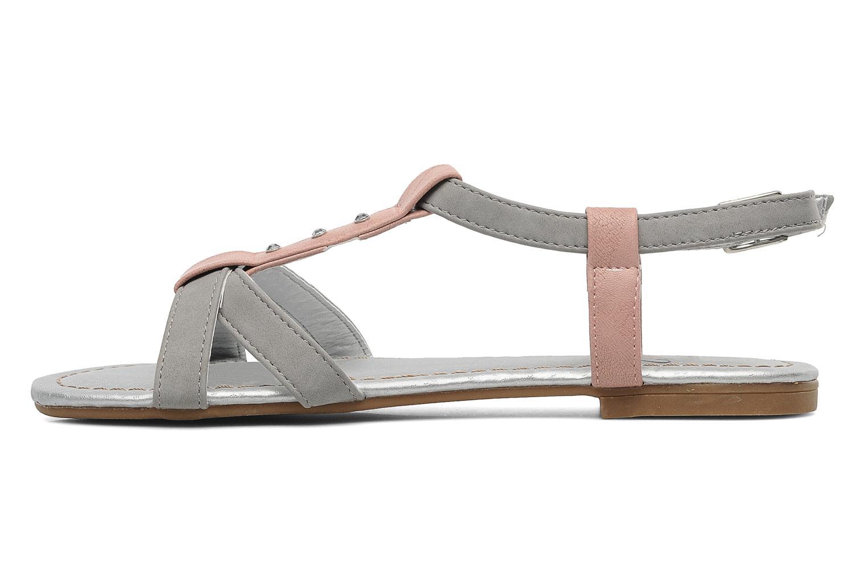 Sandales et nu-pieds I Love Shoes Itao Gris vue face