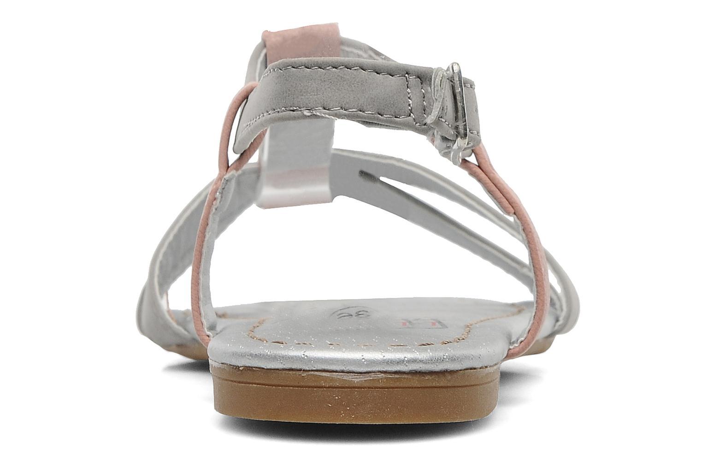 Sandales et nu-pieds I Love Shoes Itao Gris vue droite