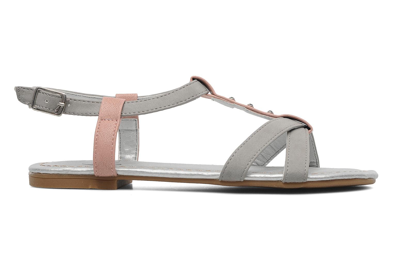 Sandales et nu-pieds I Love Shoes Itao Gris vue derrière
