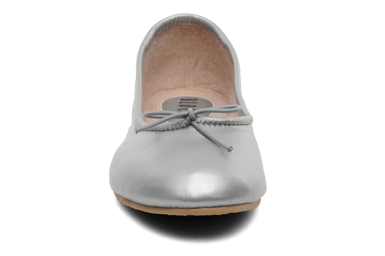 Ballerines Bloch Girls Arabella Argent vue portées chaussures