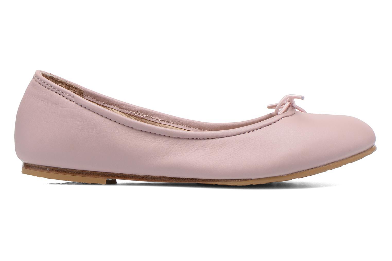Ballerinas Bloch Girls Arabella rosa ansicht von hinten