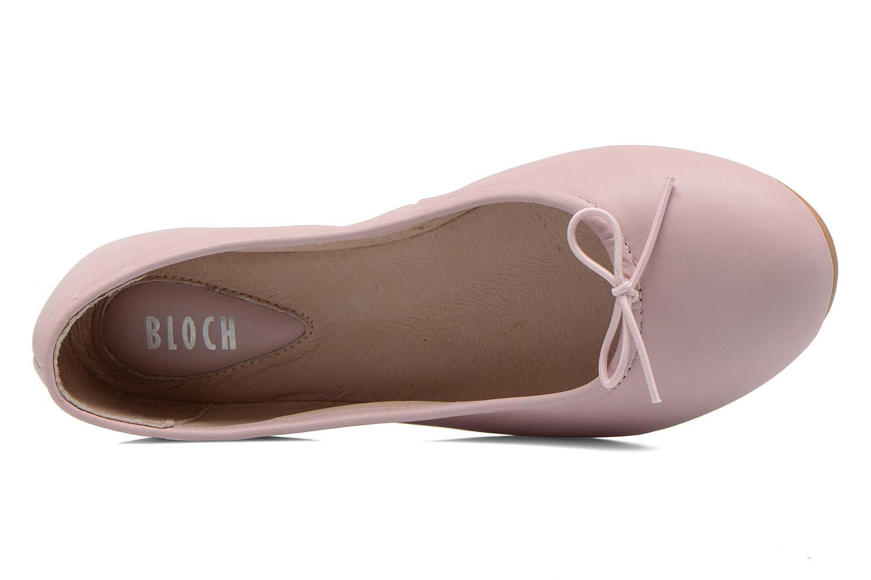 Ballerinas Bloch Girls Arabella rosa ansicht von links