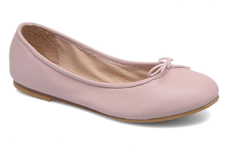 Ballerines Bloch Girls Arabella Rose vue détail/paire