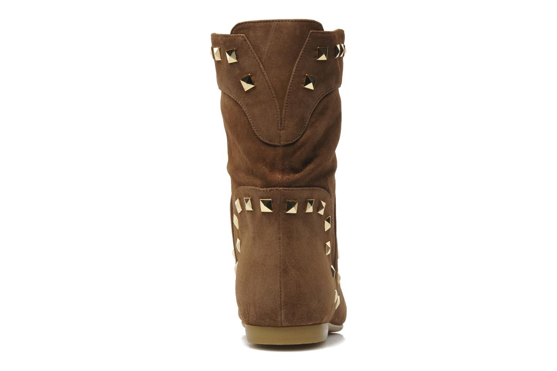 Stiefeletten & Boots Tapeet Kiara braun ansicht von rechts