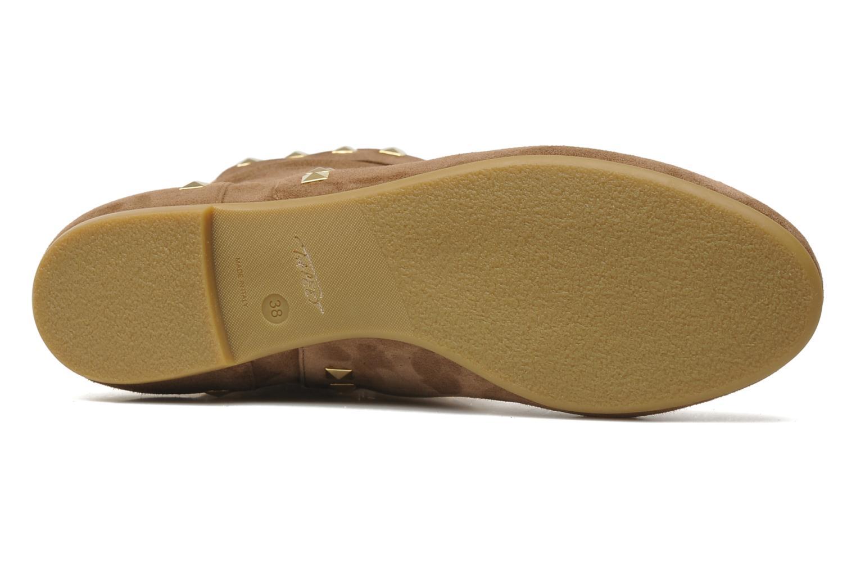 Stiefeletten & Boots Tapeet Kiara braun ansicht von oben