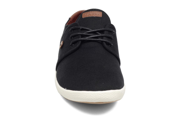 Baskets Faguo Cypress Noir vue portées chaussures