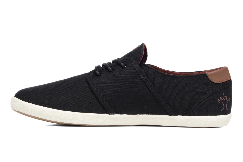Sneaker Faguo Cypress schwarz ansicht von vorne