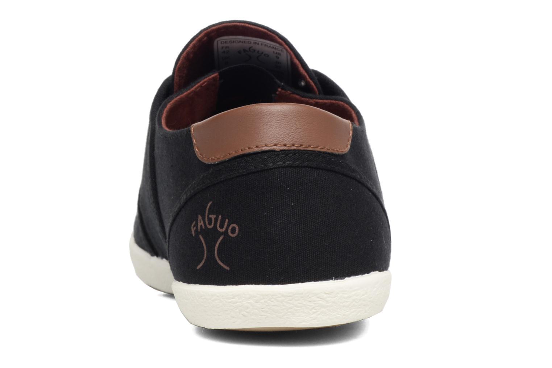 Sneaker Faguo Cypress schwarz ansicht von rechts