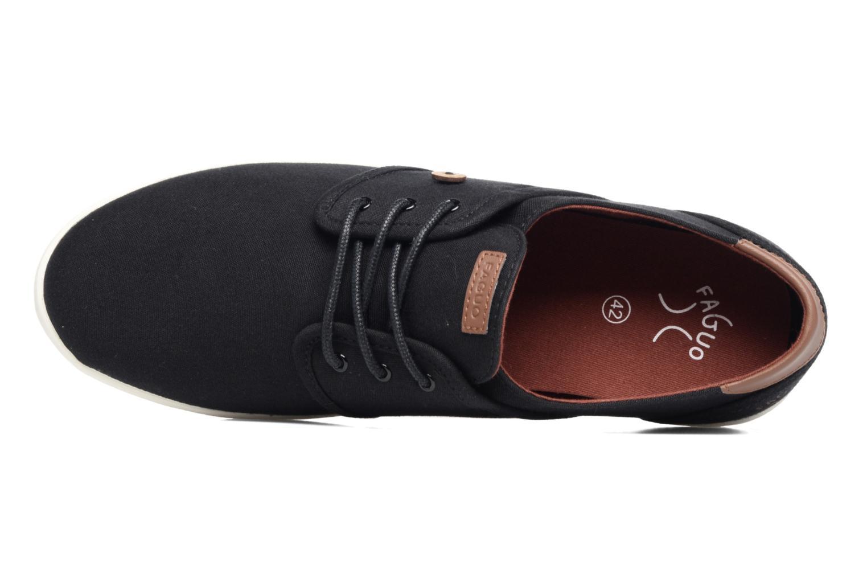 Sneaker Faguo Cypress schwarz ansicht von links