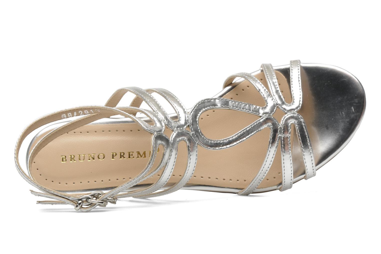 Sandales et nu-pieds Bruno Premi Speza Argent vue gauche