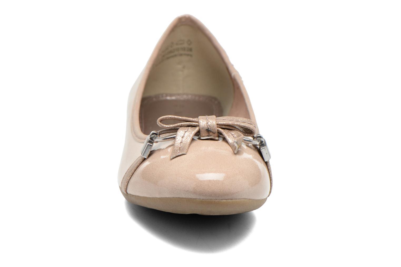 Ballerines Marco Tozzi Macha Beige vue portées chaussures
