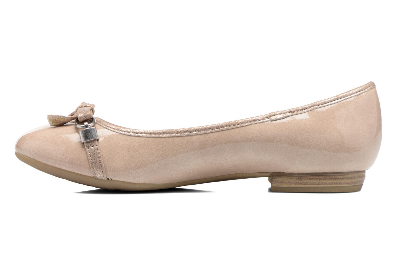 Ballerina's Marco Tozzi Macha Beige voorkant