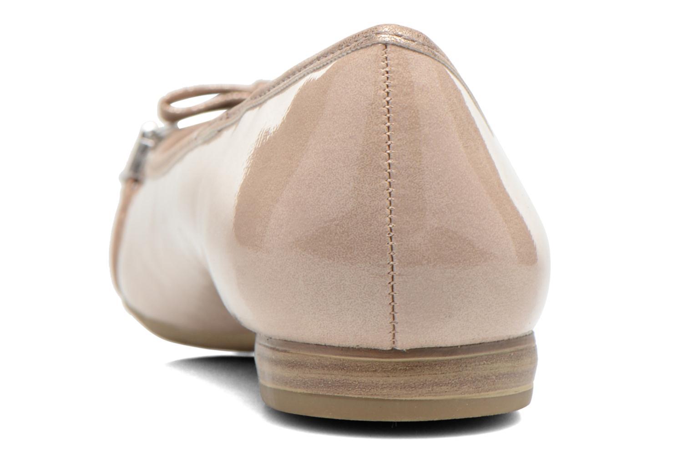 Ballerinas Marco Tozzi Macha beige ansicht von rechts