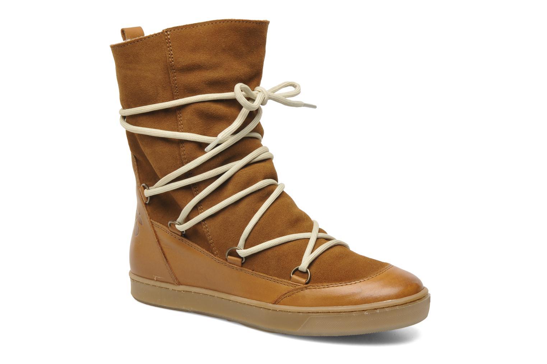 Bottines et boots Le temps des cerises Mountain Marron vue 3/4