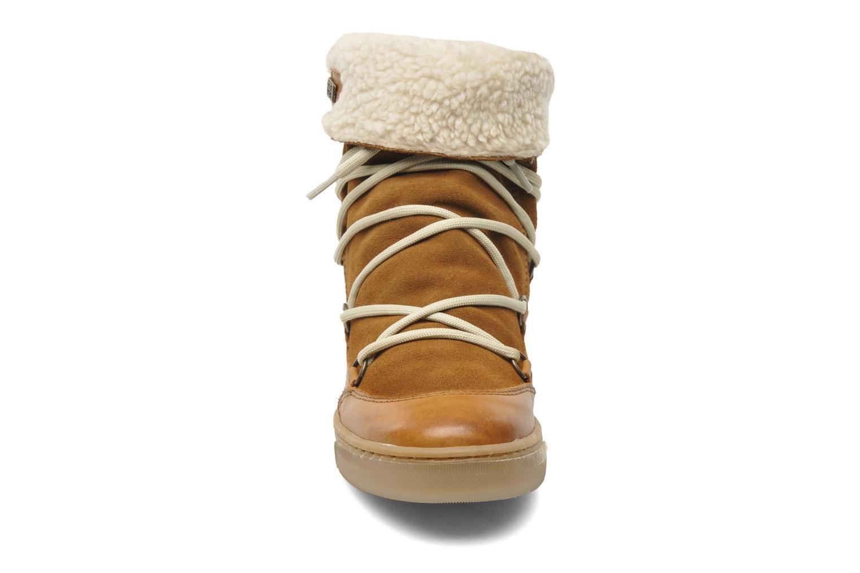 Bottines et boots Le temps des cerises Mountain Marron vue portées chaussures
