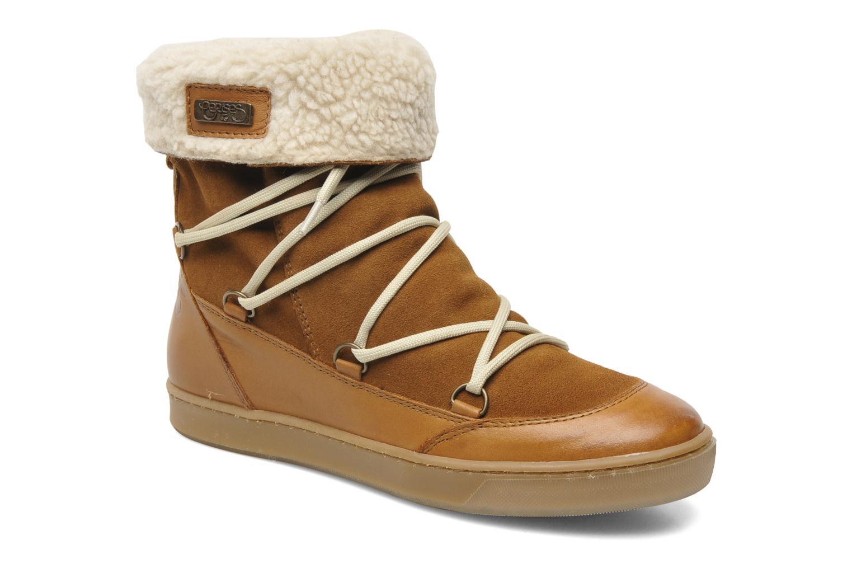 Marques Chaussure femme Le temps des cerises femme Mountain Suede Camel
