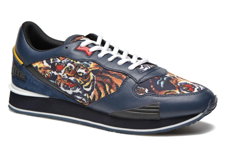 Running 65 tiger print navy