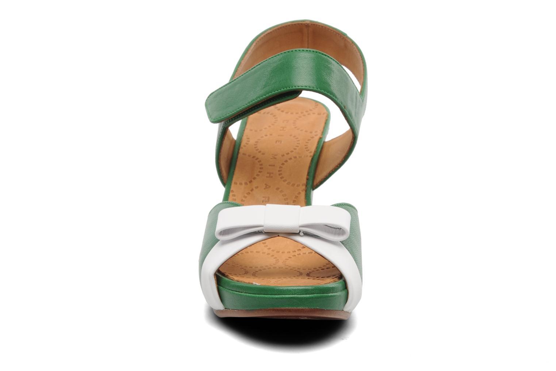 Sandalen Chie Mihara Calma grün schuhe getragen