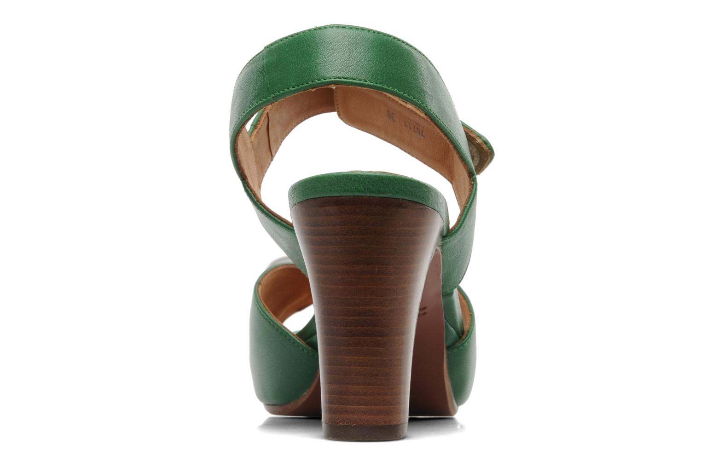 Sandalen Chie Mihara Calma grün ansicht von rechts