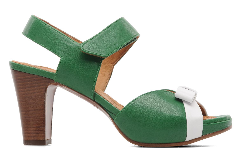 Sandalen Chie Mihara Calma grün ansicht von hinten