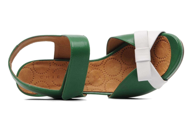 Sandalen Chie Mihara Calma grün ansicht von links