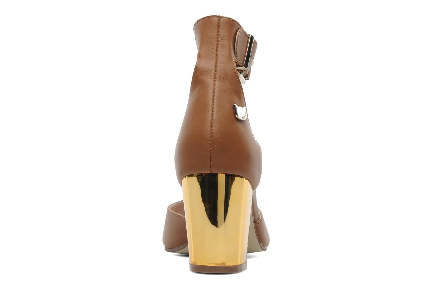 Rudy M Heel sandal Brown
