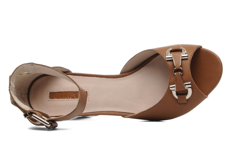 Rudy M Heel sandal Brown