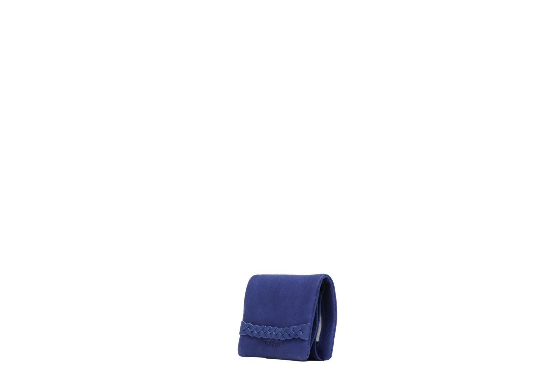 Petite Maroquinerie Nat & Nin Lilou Bleu vue portées chaussures