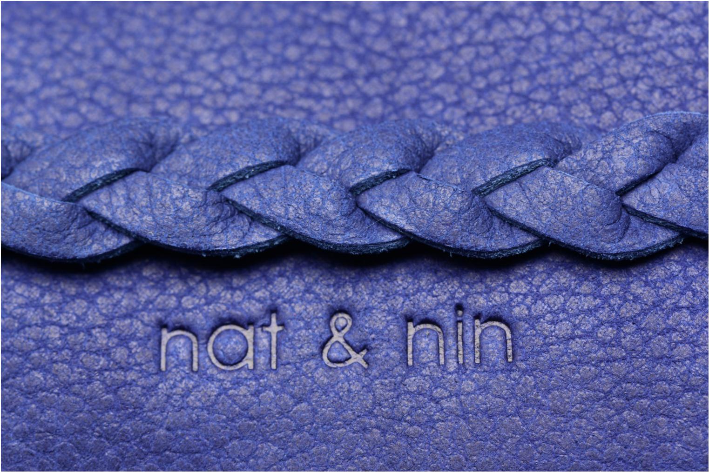 Petite Maroquinerie Nat & Nin Lilou Bleu vue derrière