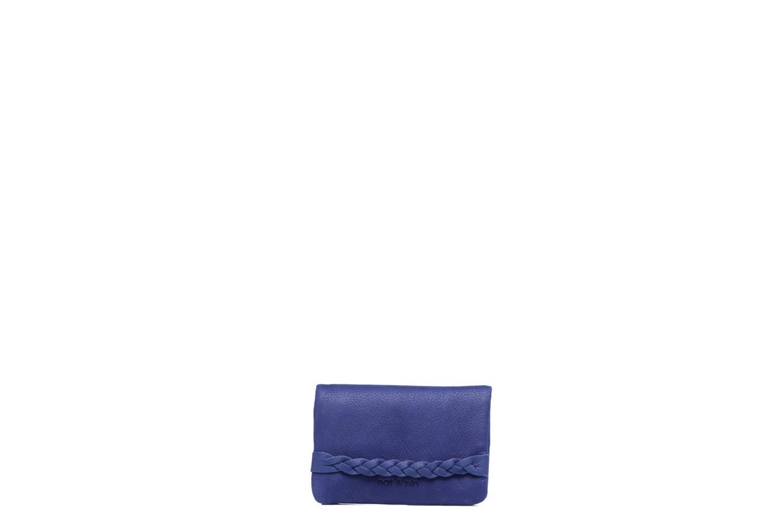 Petite Maroquinerie Nat & Nin Lilou Bleu vue détail/paire