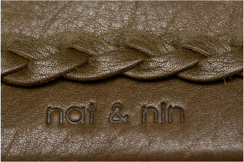 Petite Maroquinerie Nat & Nin Lilou Vert vue gauche