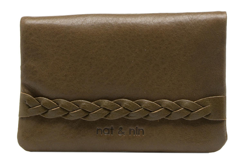 Petite Maroquinerie Nat & Nin Lilou Vert vue détail/paire