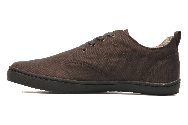 Sneaker Aigle Walden CVS braun ansicht von vorne