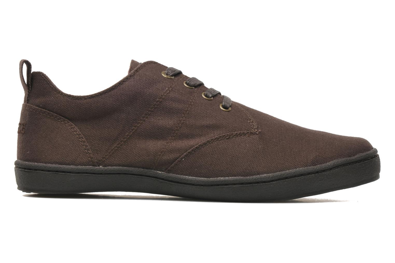 Sneaker Aigle Walden CVS braun ansicht von hinten