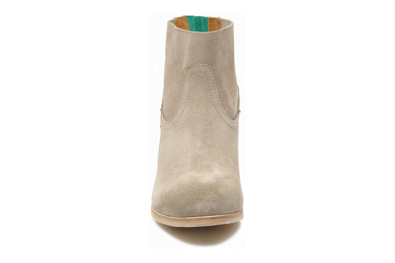 Stiefeletten & Boots Koah Larissa grau schuhe getragen