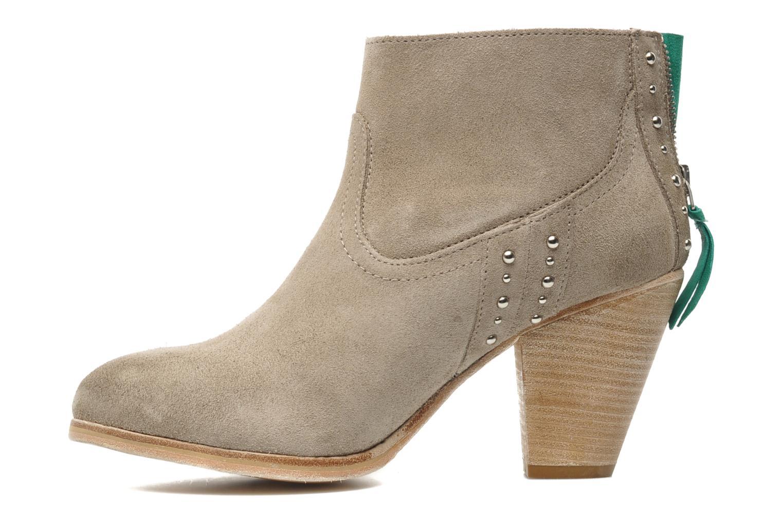 Bottines et boots Koah Larissa Gris vue face