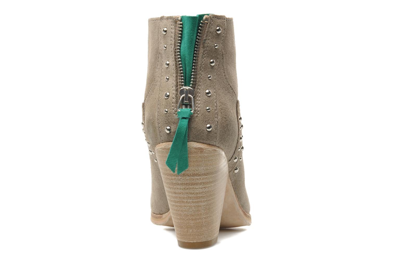 Bottines et boots Koah Larissa Gris vue droite