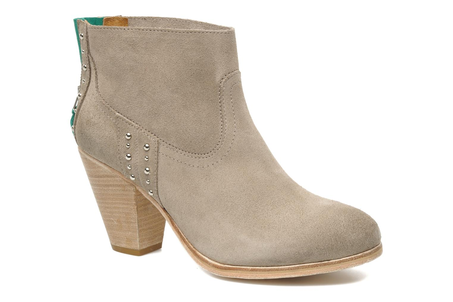 Ankle boots Koah Larissa Grey detailed view/ Pair view