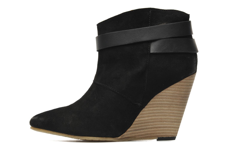 Bottines et boots Koah Liddy Noir vue face