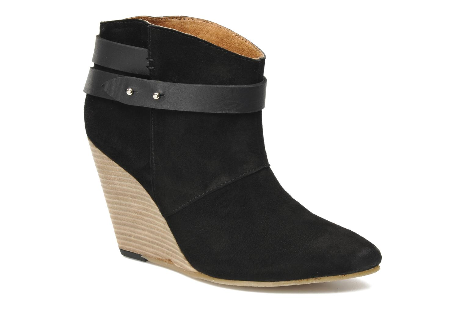 Ankle boots Koah Liddy Black detailed view/ Pair view