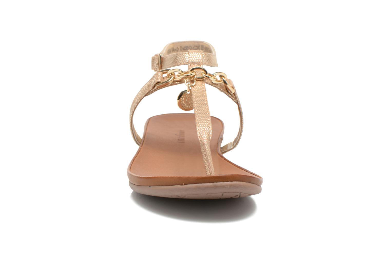 Sandales et nu-pieds Bugatti Jasmin W5970 Or et bronze vue portées chaussures