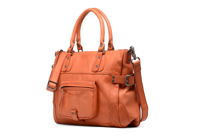Handbags Sabrina Camille Orange model view