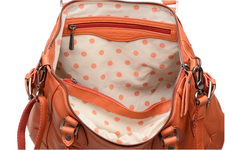 Handbags Sabrina Camille Orange back view