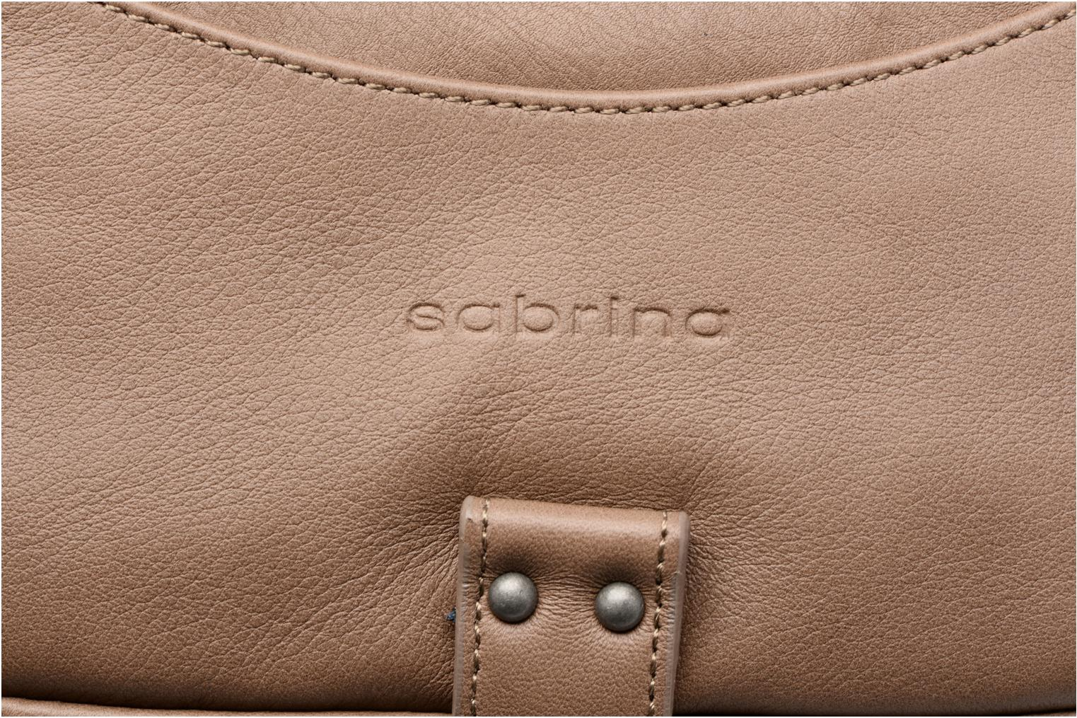 Handbags Sabrina Camille Beige view from the left